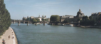 River Seine is just a few steps away