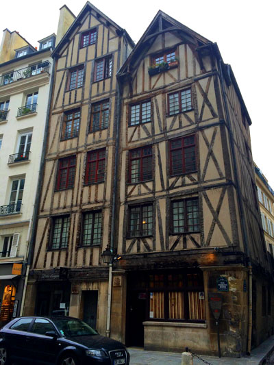 one of the oldest buildings in Paris