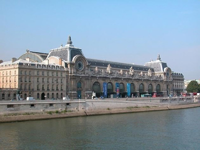 Paris' Musee d'Orsay is a 5 minute walk from this Paris apartment.